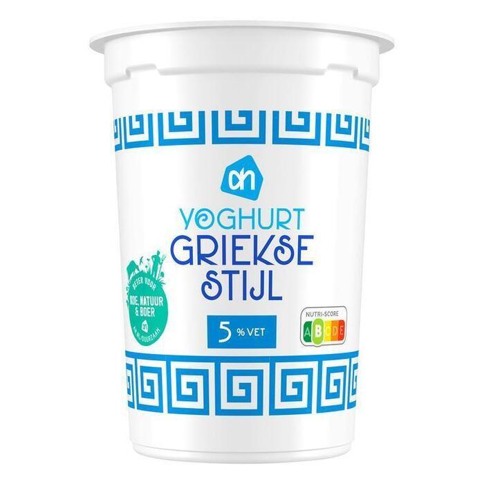 Yoghurt Griekse stijl (500g)
