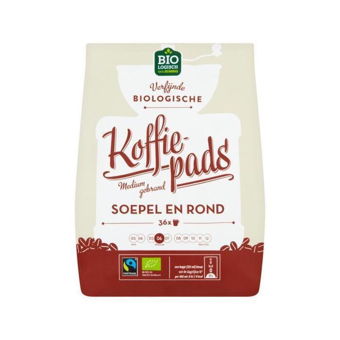 Jumbo Biologische Koffiepads Soepel en Rond 250 g (250g)