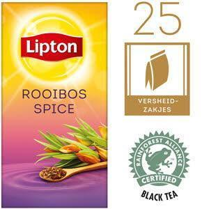 Lipton Prof Thee African Rooibos 25ST 6x (40g)