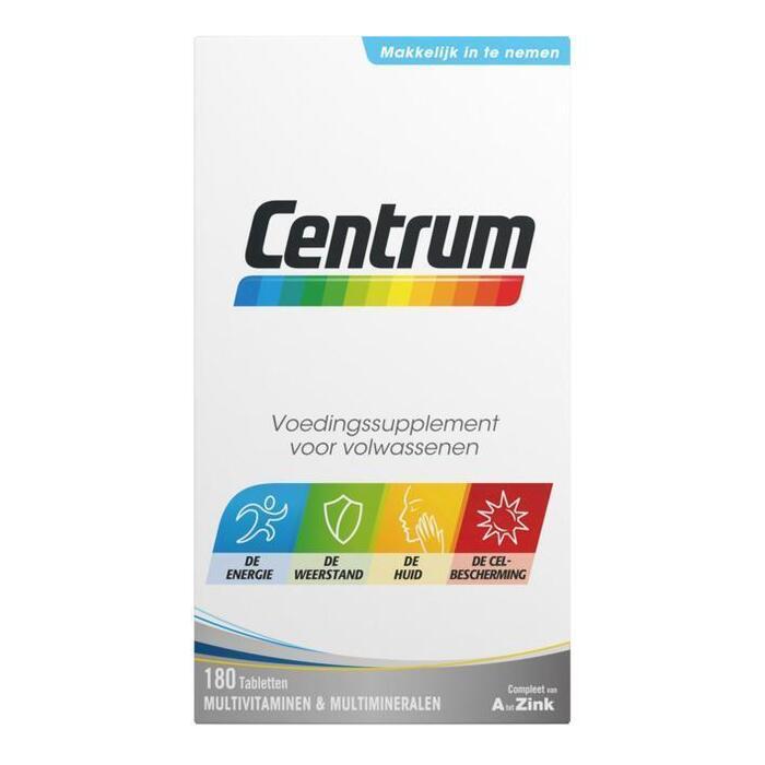 Centrum Multivitaminen & Multimineralen 180 Tabletten 222 g (222g)