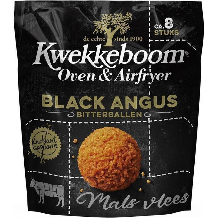 Kwekkeboom Oven Black Angus Bitterballen (Stuk, 8 × 30g)