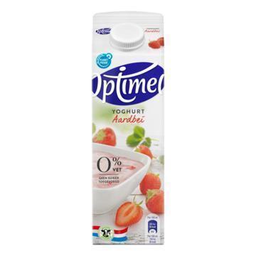 Aardbei yoghurt 0,0% vet (Stuk, 1L)