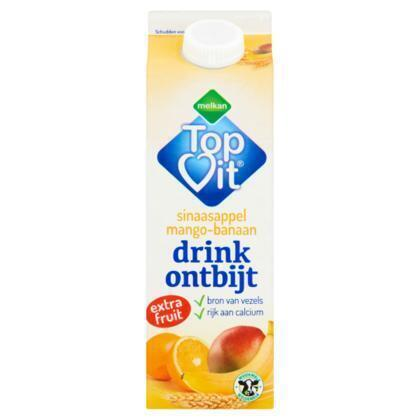 Drinkontbijt sinaasappel mango-banaan (0.5L)