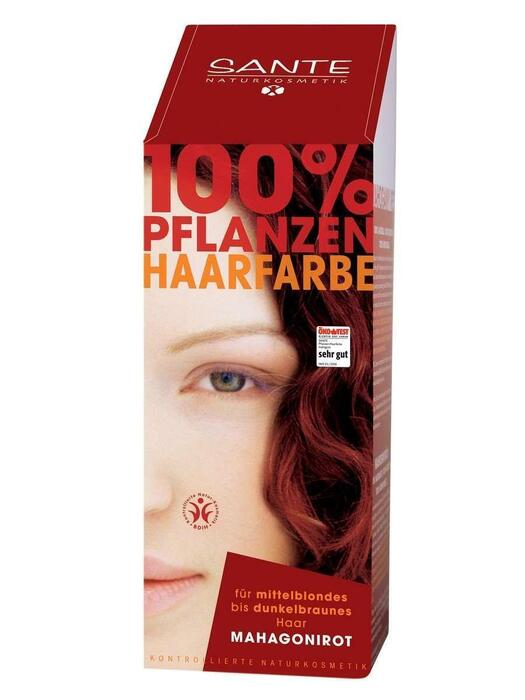 Haarkleuring Mahonierood/Mahagonirot SANTE 100g (100g)
