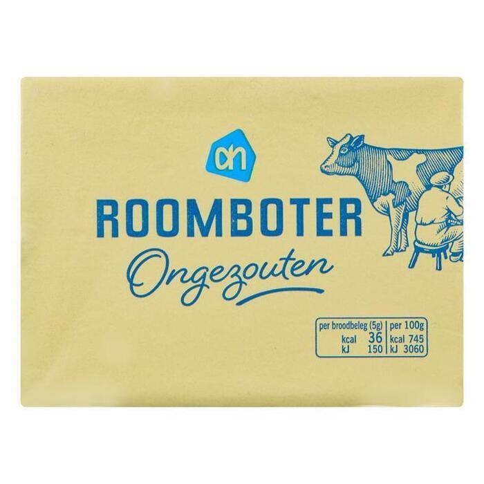 AH Roomboter ongezouten (250g)