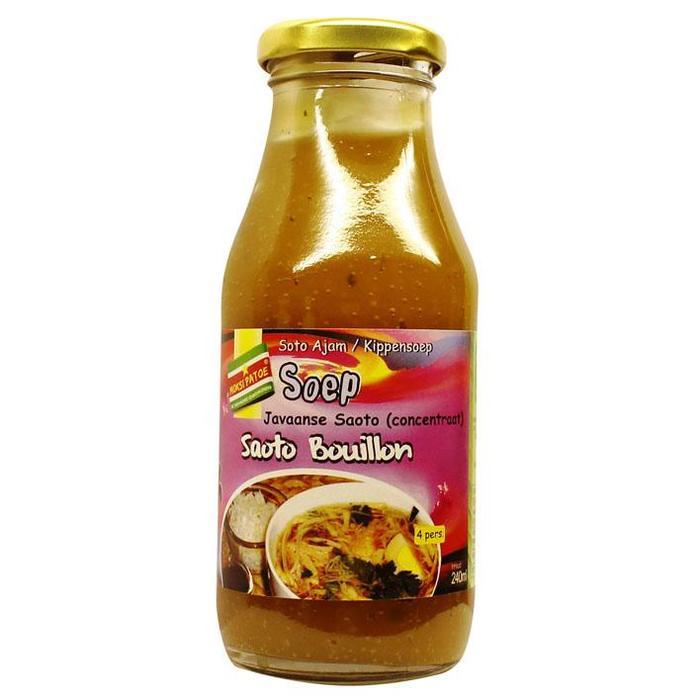 Saoto bouillon soep (240ml)