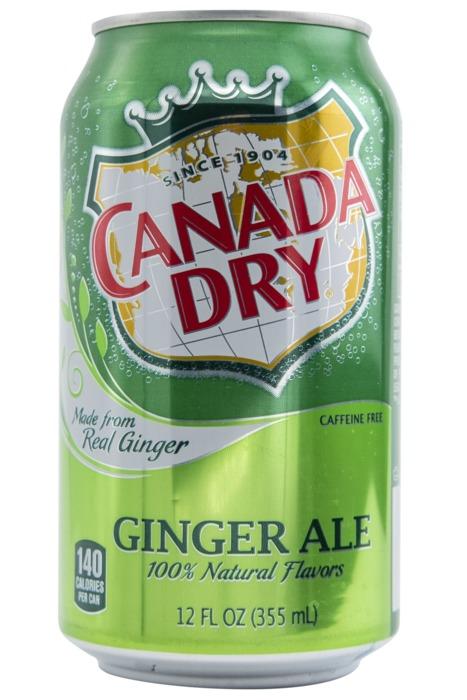 Canada Dry Ginger Ale (blik, 35.5cl)