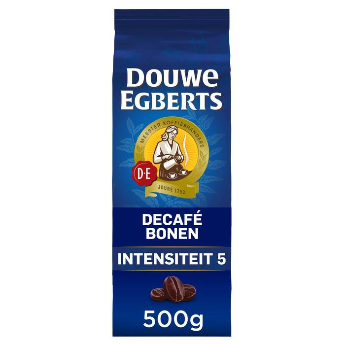 Douwe Egberts Décafé Bonen 500 g (Stuk, 500g)