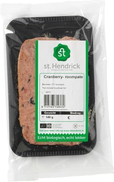 Cranberry-roompaté (140g)