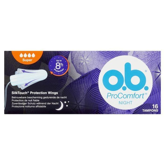OB Pro comfort night super