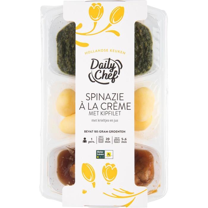 Daily Chef Spinazie crème kip (500g)