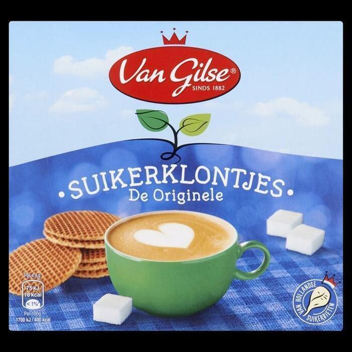 Van Gilse, Suikerklontjes (bak, 1kg)