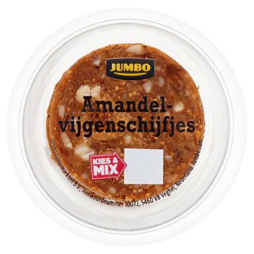 Jumbo Amandelvijgenschijfjes 75 g (75g)