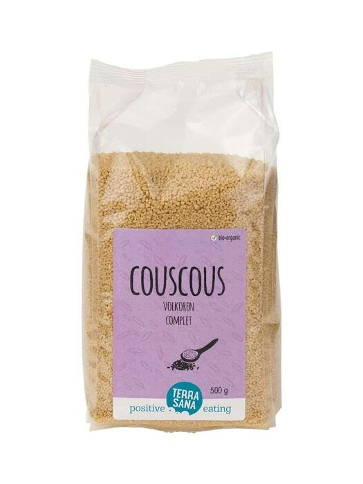 Couscous volkoren TerraSana 500g (500g)