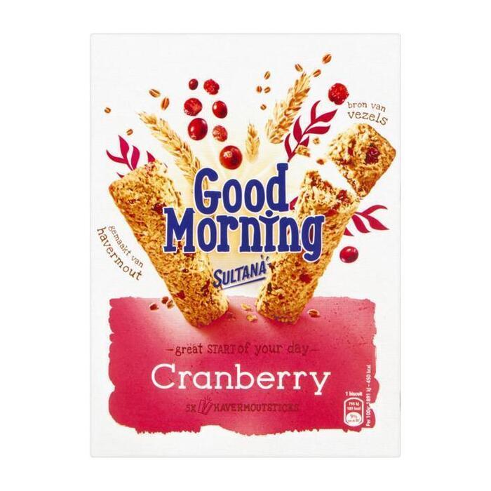 Goodmorning cranberry (Stuk, 5 × 41g)