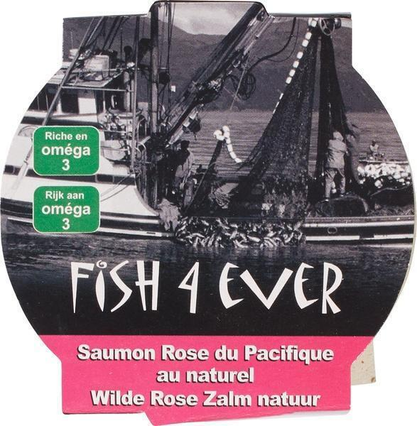 Wild Alaskan Pink Salmon, MSC (blik, 160g)
