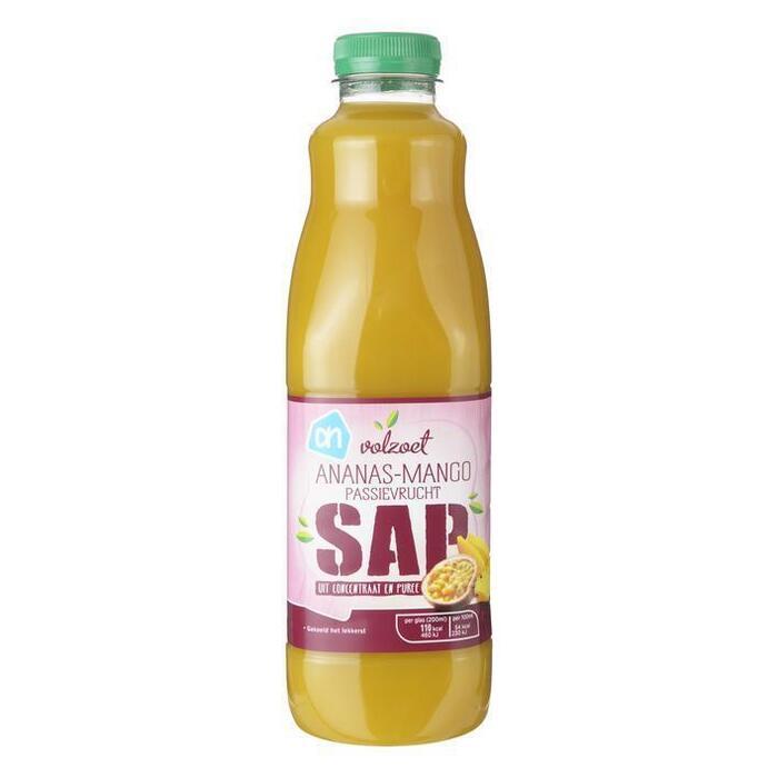 Ananas mango passievrucht sap (1L)