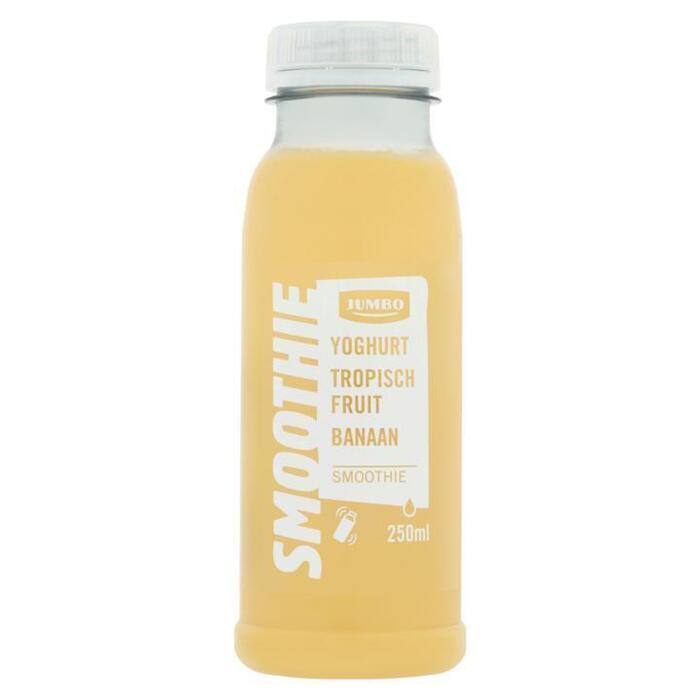 Jumbo Smoothie Yoghurt Tropisch Fruit Banaan 250ml (250ml)