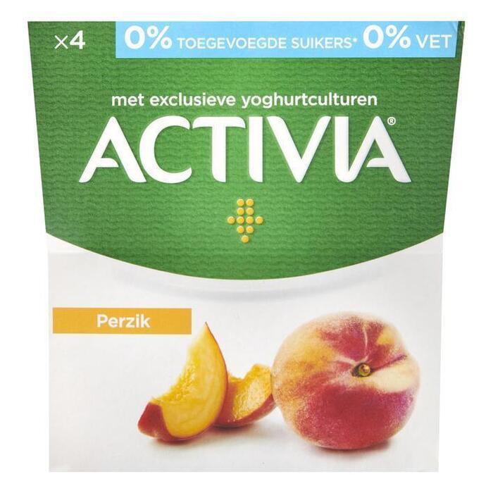 Activia Perzik 0% (4 × 500g)