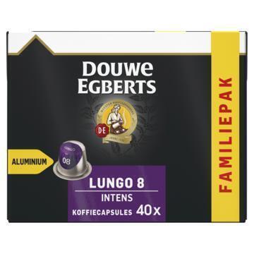 DOUWE EGBERTS KOFFIE CAPSULES LUNGO INTENS UTZ 208G 40ST BOX (208g)