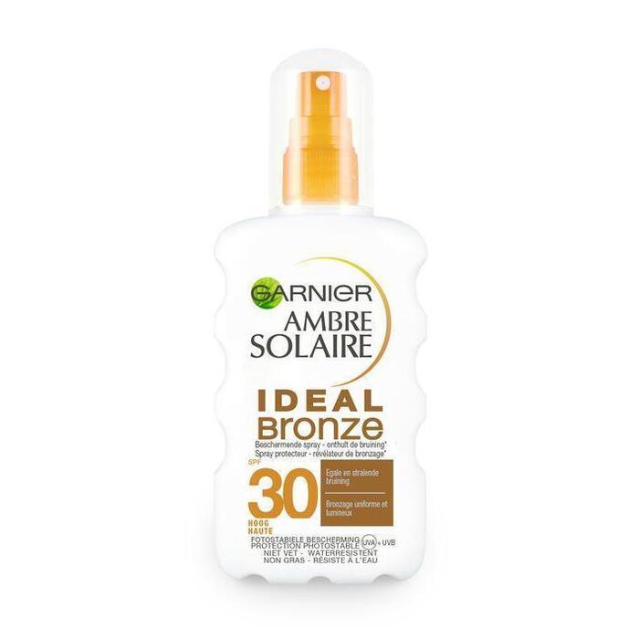 Garnier Ambre Solaire Beschermende Spray Ideal Bronze SPF 30 200 ml (200ml)