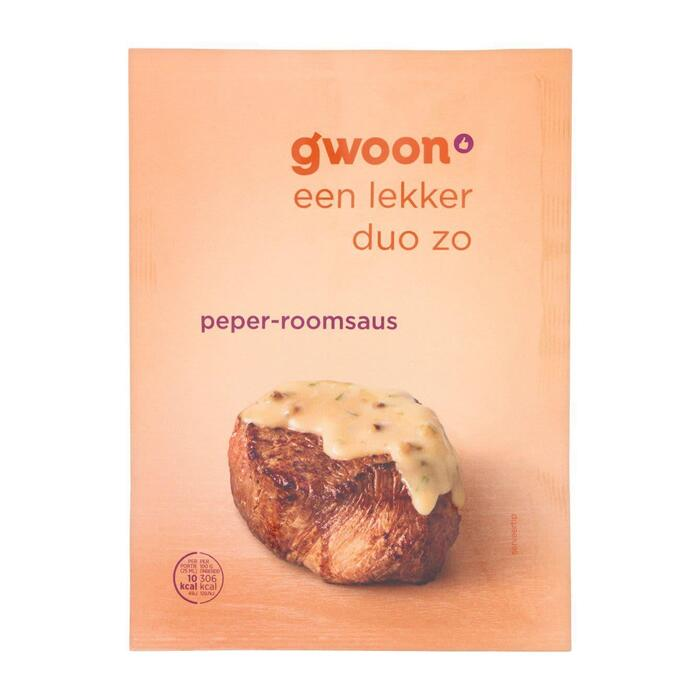 g'woon Mix voor peper roomsaus (30g)