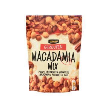 Jumbo Gezouten Macadamia Mix 200 g (200g)