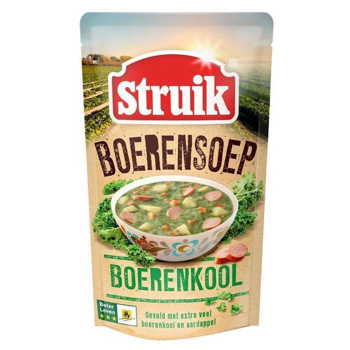 Struik Boerensoep boerenkool (0.57L)