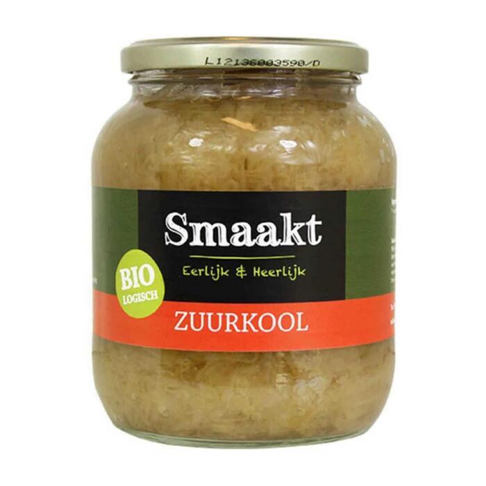 Smaakt Zuurkool Naturel Bio (0.72L)