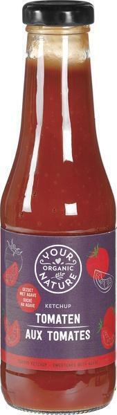 Tomatenketchup Classic (glazen fles, 500g)
