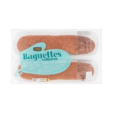 Jumbo Baguettes Volkoren 2 Stuks 300 g (300g)