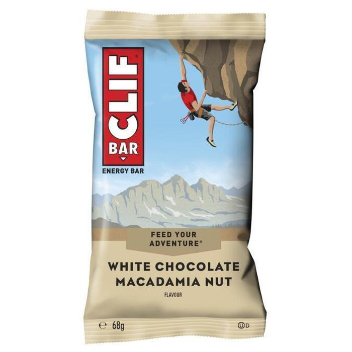 Clif Bar White chocolate-macadamia nuts (68g)