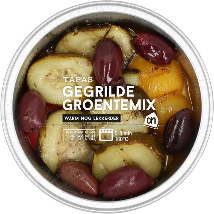 AH Gegrilde groentemix (130g)