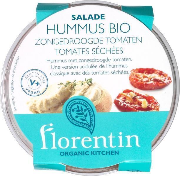 Hummus sun dried tomatoes (bak, 170g)