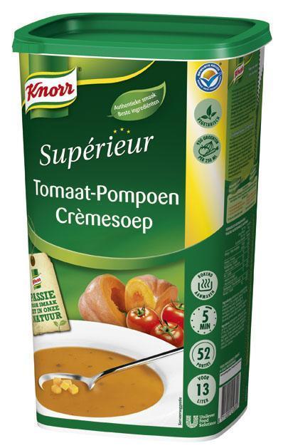 Knorr Sup Tomaat Pompoensoep 1.17Kg 6X (6 × 1.17kg)