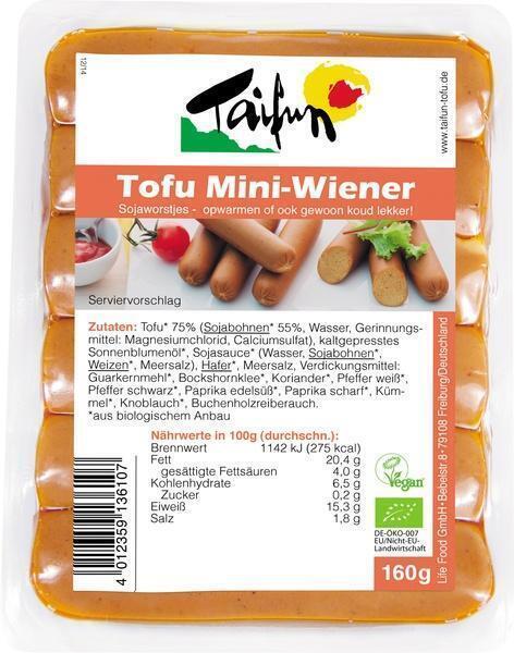 Tofu mini Wiener (160g)