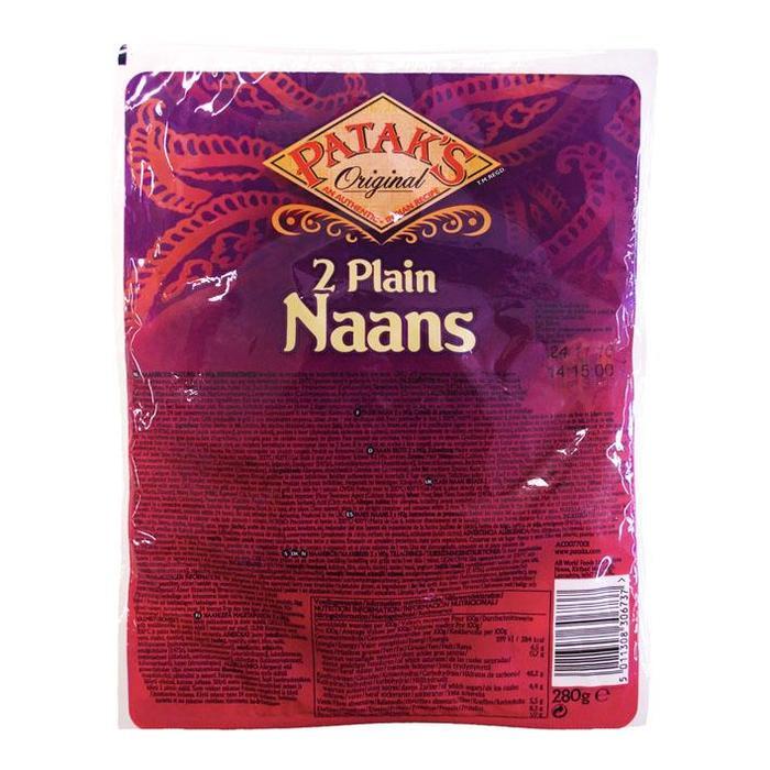 Plain Naans (zak, 280g)