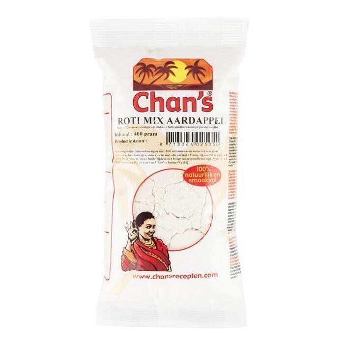 Chan's Roti mix aardappel (400g)