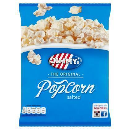 Jimmy's Popcorn Zout (70g)