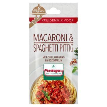 Verstegen Kruidenmix voor Macaroni & Spaghetti Pittig 15 g (15g)