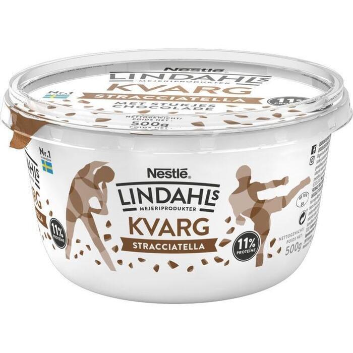 Lindahls Kvarg stracciatella (500g)