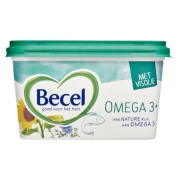 Becel Omega 3 plus voor op brood (kuipje, 575g)