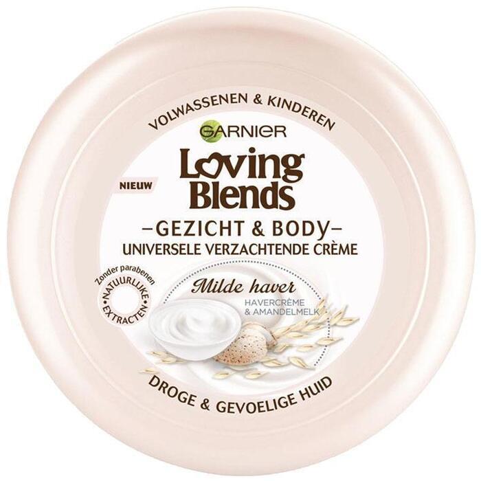 Garnier Loving Blends gezicht & body milde haver (200ml)