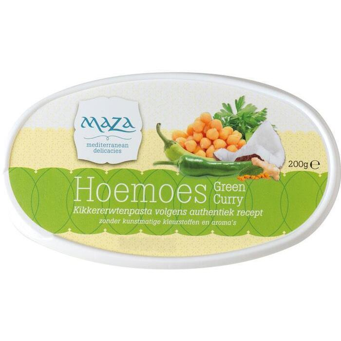 Maza Hoemoes green curry (200g)