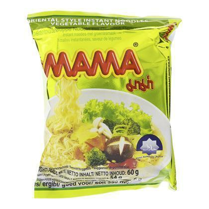 Mama Instant Noodles met Groentesmaak 60g (55g)