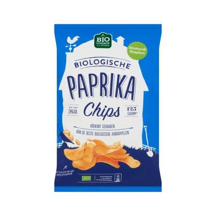 Jumbo Biologische Paprika Chips 125 g (125g)