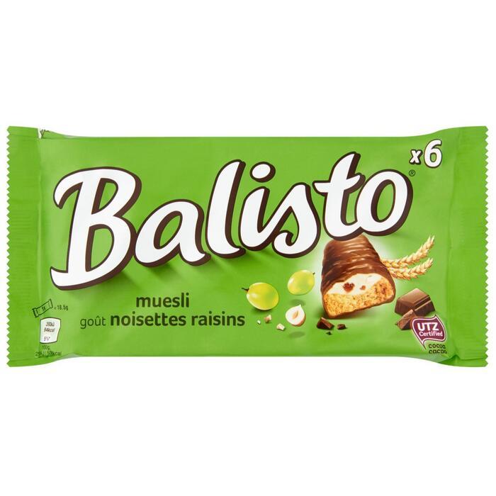 Balisto Muesli-Mix (zak, 6 repen) (6 × 111g)