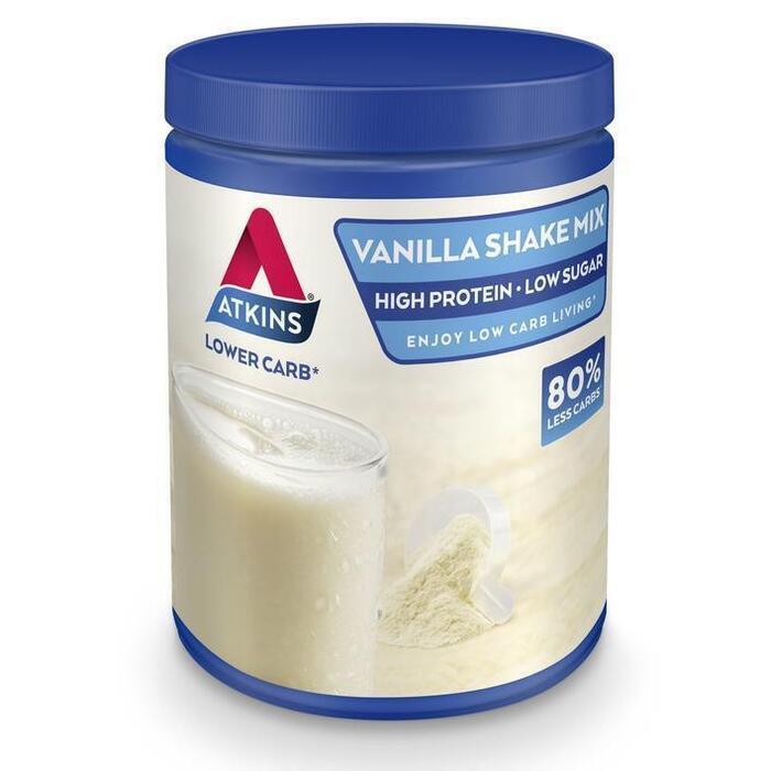 Atkins Vanilla shake mix (370g)