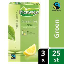 PICKWICK PROFESSIONAL GREEN TEA LEMON FT (bak, 25 × 50g)