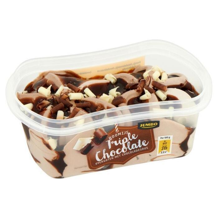 Jumbo Roomijs Triple Chocolate 200ml (200ml)